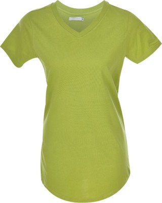 Nordlich Solid Women,s V-neck T-Shirt