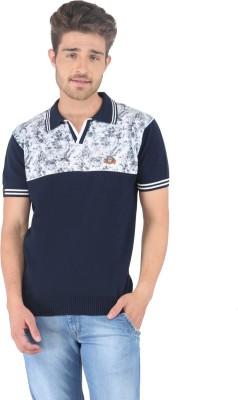 Stride Printed, Solid Men's Fashion Neck T-Shirt