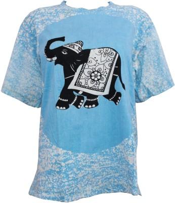 Odishabazaar Printed Men,s, Women's Round Neck T-Shirt
