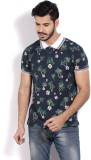 Pepe Jeans Floral Print Men's Polo Neck ...
