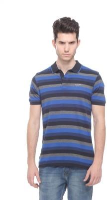 OCTAVE Striped Men's Polo Multicolor T-Shirt