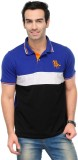 Yepme Solid Men's Polo Neck Blue, Black ...