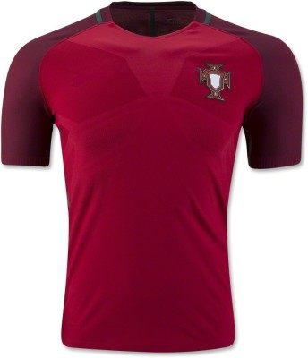 Marex Printed Men's V-neck Red T-Shirt