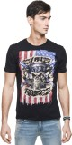 Guns N Roses Printed Men's Round Neck Bl...