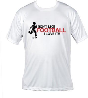 Prokyde Printed Boy,s, Men's Round Neck White T-Shirt