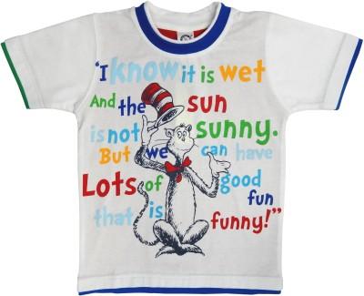 Kooka Kids Graphic Print Boy's Round Neck T-Shirt
