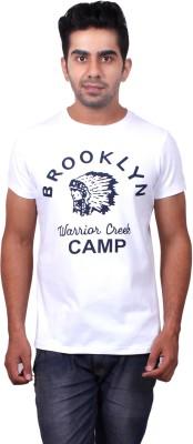 Brooklyn And Ridge Graphic Print, Printed Men's Round Neck White T-Shirt