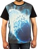 Uforix Graphic Print Men's Round Neck T-...