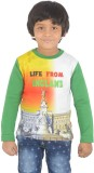 SPARK Printed Boy's Round Neck T-Shirt