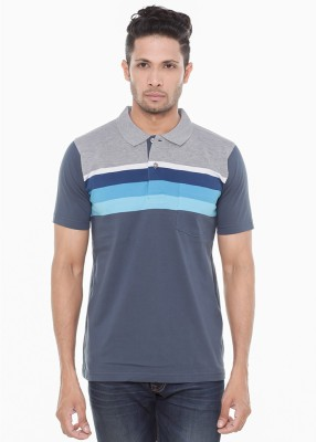 Wexford Striped Men's Polo Neck Multicolor T-Shirt