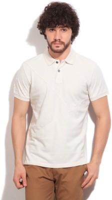 Gant Solid Men's Polo White T-Shirt