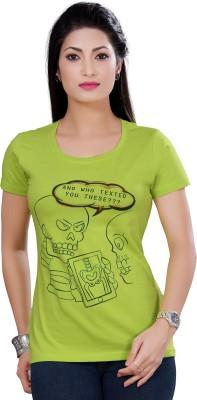 My Fynx Graphic Print Women's Round Neck T-Shirt