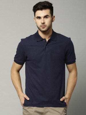 Marks & Spencer Solid Men's Polo Neck T-Shirt