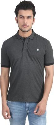 John Players Solid Men's Polo Neck T-Shirt