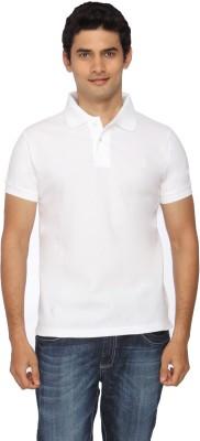 Scottish Solid Men's Polo White T-Shirt