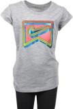 Nike Kids Girls Printed Cotton (Grey)