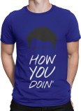 Silly Punter Printed Men's Round Neck Bl...