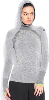 Nike Solid Women's Hooded T-Shirt