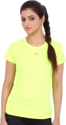Fitsoul Solid Women's Round Neck T-Shirt