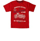 SuperYoung Printed Boy's Round Neck Red ...