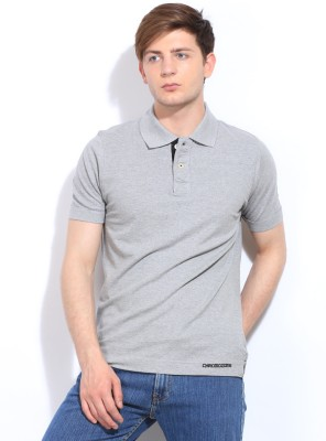 Chromozome Solid Men's Polo T-Shirt