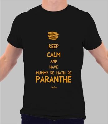 Merchbay Polka Print Men's Round Neck T-Shirt