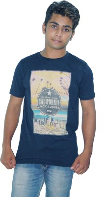 Fashion Passion Printed Men's Round Neck T-Shirt