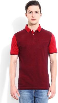 Blackberrys Printed Men's Polo Red T-Shirt