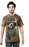 The Mountain Printed Men's Round Neck Br...