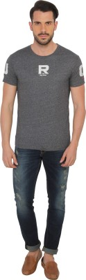 Being Human Clothing Solid Men's Round Neck T-Shirt