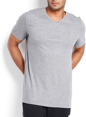 Vogue Solid Men's V-neck T-Shirt