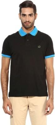 London Bridge Solid Men's Polo Neck T-Shirt