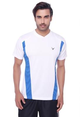 Valentine Solid Men's V-neck T-Shirt