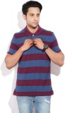 Arrow Sports Striped Men's Polo Neck Mar...