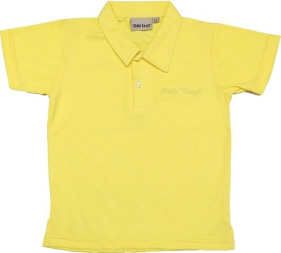 Childkraft Solid Baby Boy,s Polo Neck T-Shirt