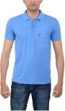 Japroz Solid Men's Polo Neck Light Blue ...