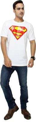 Attitudecrazyzone Printed Men,s Round Neck White T-Shirt