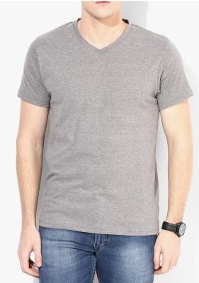 Moodlay Solid Men's V-neck T-Shirt