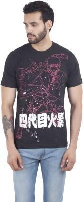 Iine Printed Men's Round Neck T-Shirt