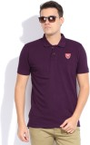 Scullers Sport Solid Men's Polo Neck Pur...