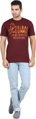 Chevy Printed Men's Round Neck T-Shirt