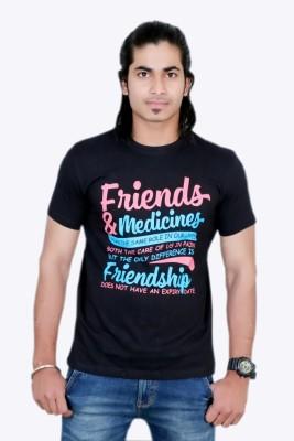 MaximBlue Printed Men's Round Neck T-Shirt