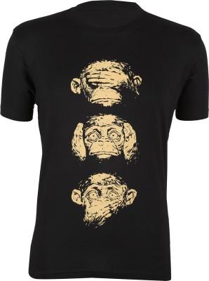Next Steps Printed Men's Round Neck T-Shirt