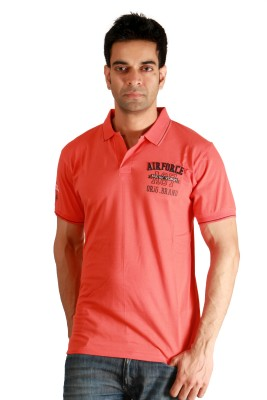F Fashionstylus Solid Men's Polo Neck T-Shirt