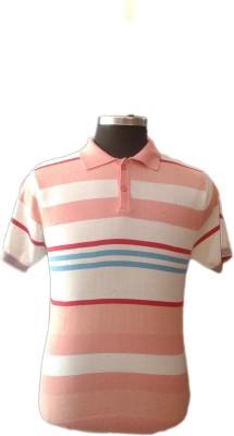 TOC Self Design Men's Round Neck Multicolor T-Shirt