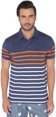 Greenfibre Striped Men's Polo T-Shirt