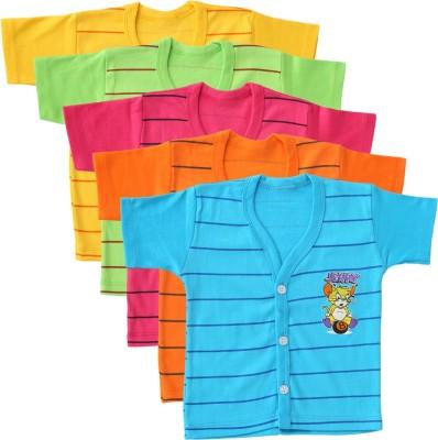 Harsha Striped Baby Boy's Henley T-Shirt