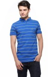 Fasnoya Striped Men's Polo Neck Blue, Ye...