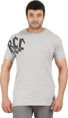 Ronnie Coleman Clothing Printed Men's Round Neck Grey T-Shirt