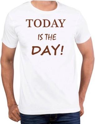 PhotogiftsIndia Printed Men's Round Neck White T-Shirt